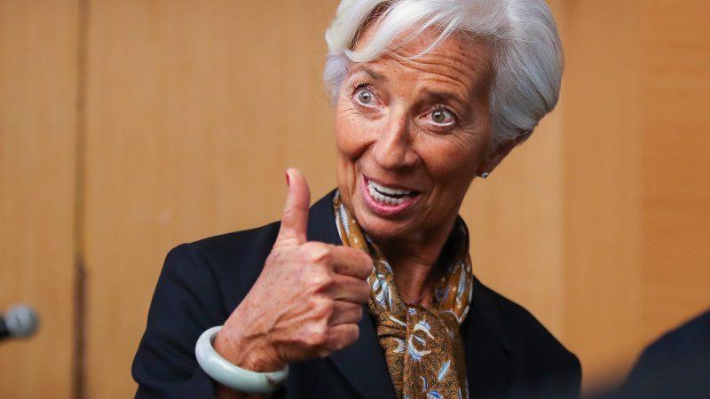 President of European Central Bank, Christine Lagarde