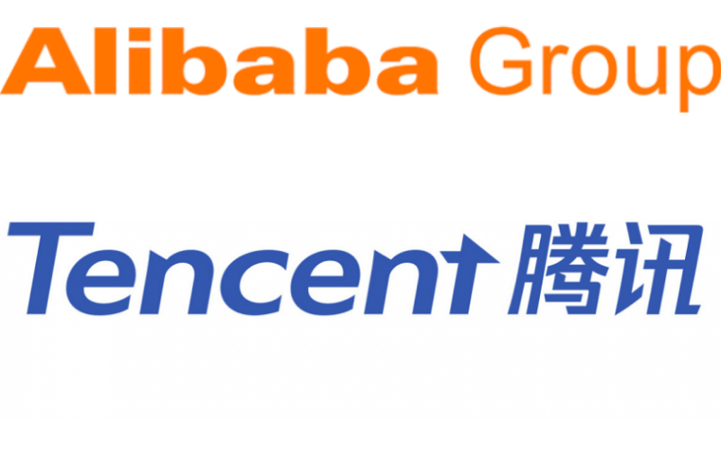 Ali Baba Group and Tencent Holding were fined by China.