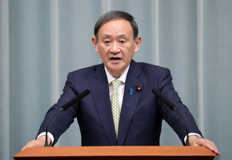 Prime Minister of Japan, Yoshihide Suga reveals the stimulus package.