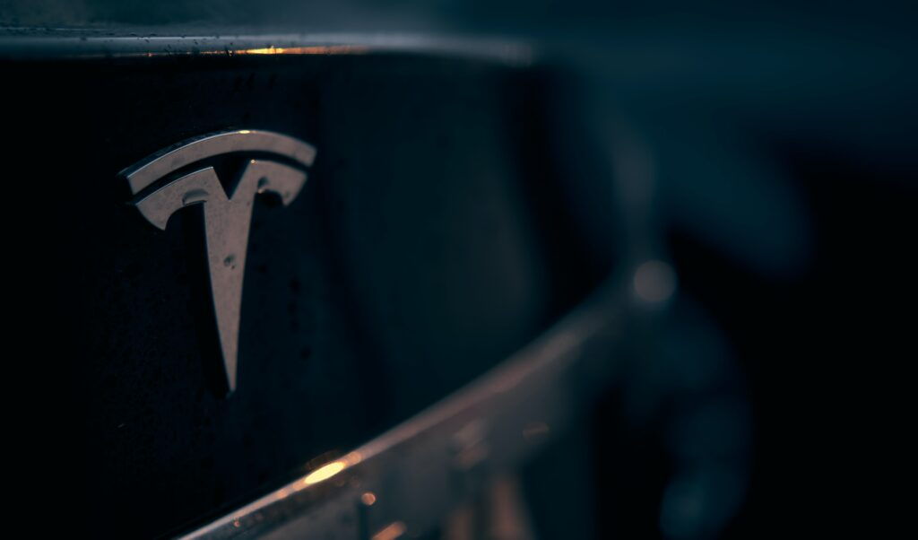 Sharp Drop in Tesla Stock