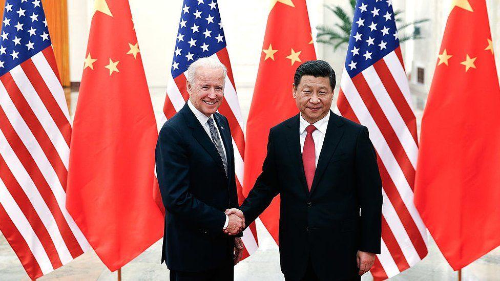 Biden Speaks with Jinping