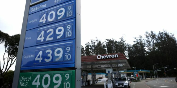 Biden Points to 2022 For a Drop in Gasoline Prices